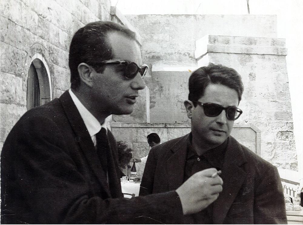 Alfredo Reichlin e Vito Laterza